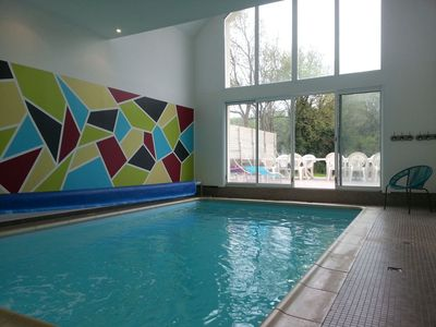 Photo for Large house with indoor pool