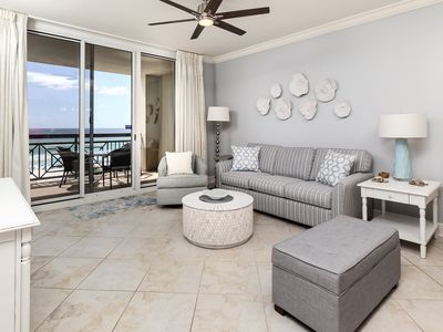 Photo for Beautiful Gulf Front Condo! Pools Onsite, Nearby Activities, Shops, & Restaurants!
