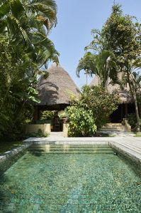 Tropical Authentic Balinese House (2br)