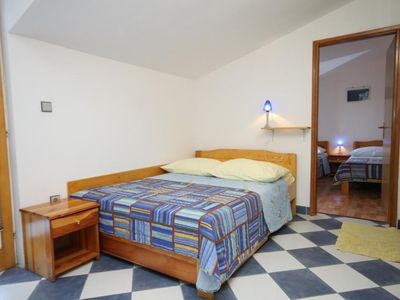 Photo for One bedroom apartment with balcony and sea view Sućuraj (Hvar)