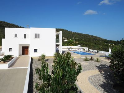 Photo for Charming Villa in Cala Jondal with nice sea view and quiet surroundings