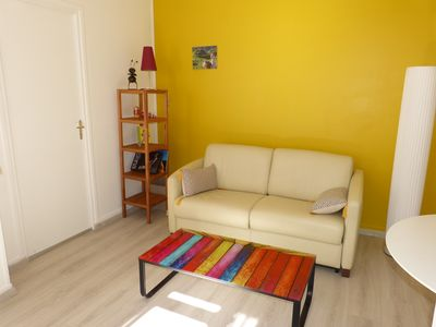 Photo for 2 rooms 3 *, light, space, comfort, hypercentre
