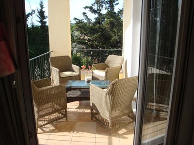 """Photo for Country side flat next to the """"El. Venizelos"""" airport and Rafina port."""