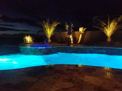 Photo for New in 2017 Havasu Home! Pool, Spa, Views! Sleeps 8, Boat/RV Garage 67' x 17'