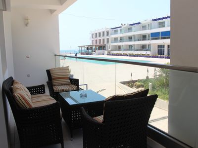 Photo for Panoramic view apartment Adan Beach 1
