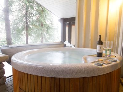 Photo for PRESIDENTS WEEK AVAILABLE!  Village Location ~ Mountain Views ~ Private Hot Tub