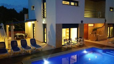 Photo for Modern villa, located in an ideal environment, at only 100 meters of the sea.