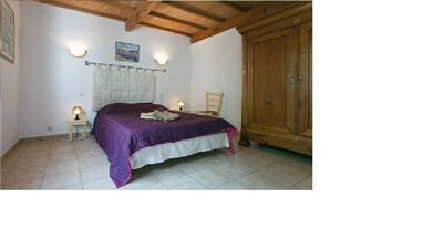 Photo for Independent 3-star apartment between Camargue and Alpilles air-conditioned