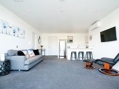 Photo for Viaduct Harbour Waterfront Luxury Apt+ Pool Spa
