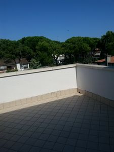 Photo for Beautiful apartment with large terrace in a quiet building in the quiet inner.