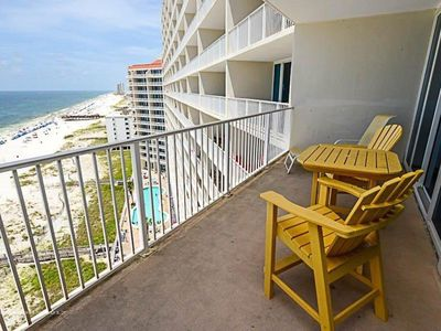 Photo for Gulf Front Condo @ Lighthouse! Sleeps 6 - Great Amenities!