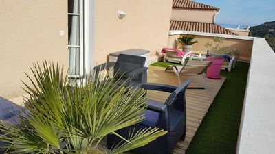 Photo for Magnificent T3 Duplex with relaxing terrace of 30 m2