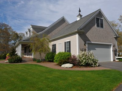 Photo for Luxury Home Quiet Cul-de-sac, 1/4 mi walk to mid-Cape's Best Beaches