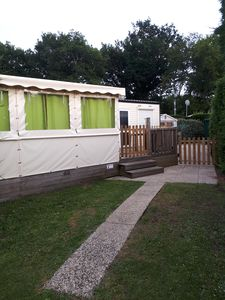 Photo for Air-conditioned mobile home 8 places covered terrace 2 bathrooms SIBLU Les Charmettes Park