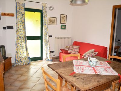 Photo for Apartment Fico: two-room apartment 2 + 2 beds in the open countryside with a view