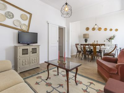 Photo for Vintage apartment at Graça with both washing and dishwasher machine