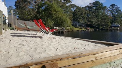 Photo for The Grey Goose (Waterfront) Historic New Bern - Private Beach - BRING YOUR BOAT!