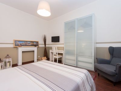 Photo for Apartment 1.5 km from the center of Rome with Parking, Internet, Washing machine, Air conditioning (286693)