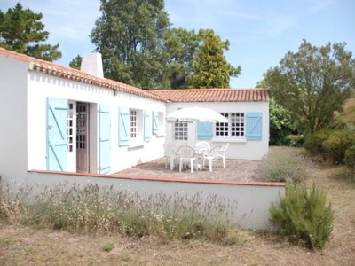 Photo for House near the forest with a large garden in the island of Noirmoutier