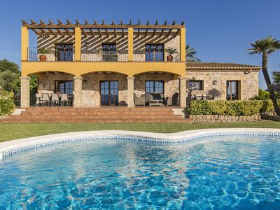 Photo for Big luxury villa with private swimming pool located between Alcudia and Pollensa