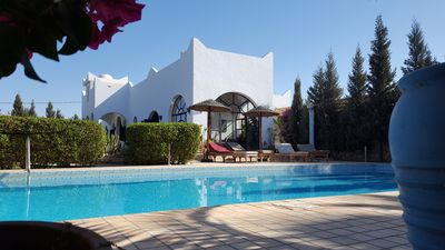 Photo for HIGH STANDING VILLA WITH SWIMMING POOL, GARDEN AND WIFI.