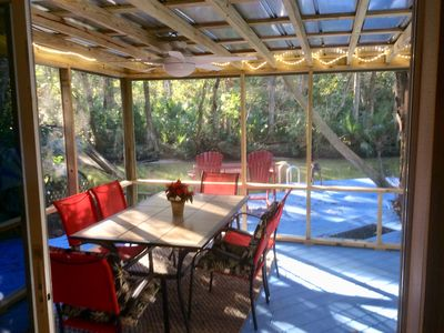 One of the Best Riverfront homes on the Weeki Watchee River