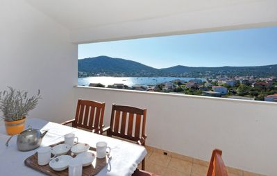 Photo for Holiday apartment with sea view and 2 terraces