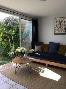Photo for Garden level 60 m2 Royan 300 m from the sea