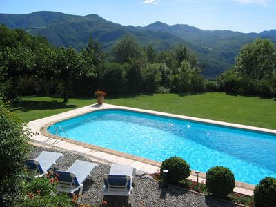 Photo for LUXURY LET WITH V. LARGE POOL & STUNNING VIEWS - 3 bedrooms/2 bathrooms