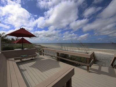 Photo for Direct Gulf View, Beach Condo on Manasota Key, FL