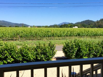 Photo for 2 bdrm Vineyard View Farmhouse close to downtown St. Helena (Permit #2013-47)