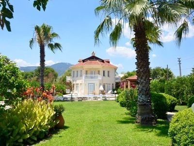 Photo for Luxury 6 bedroom villa all ensuite , private pool free wifi,aircon,Sat TV