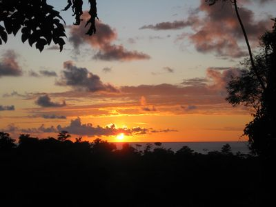 Photo for Fantastic Ocean Sunset view A/C in gated estate & new wifi