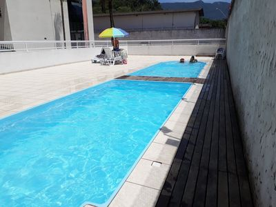 Photo for Apartment with pool Ubatuba
