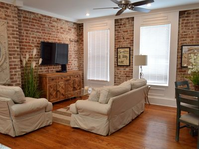 Photo for Local Culture themed Historic luxury condo, 2 blocks from French Quarter