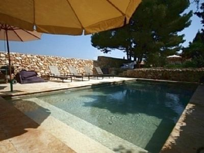 Photo for Beautiful Villa, large garden and pool, short drive to beaches