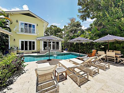 Photo for New Listing! Luxe Colee Hammock Dream w/ Heated Private Pool - Near Las Olas