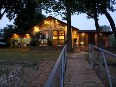 Photo for Spacious Porters Lakehouse Branson/on Lake Taneycomo