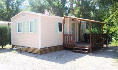 Photo for Camping La Rivière *** - Mobile home for 5 people - 4/5 places (between 0 and 5 years old)