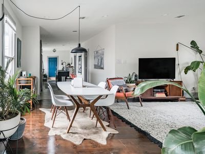 Photo for Walk to the Pearl from This Stylish and Cozy Home