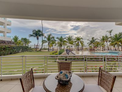 Photo for NEW LISTING! Contemporary, waterfront condo w/ shared pool and easy beach access