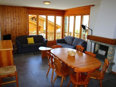 Photo for Comfortable 3*, 2-bedroom-apartment for 8 people, situated at about 1km from the gondola lift and at