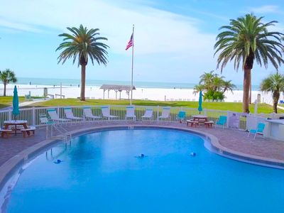 Photo for Siesta Key GULF SIDE~#100 - Peaceful Private Condo,  3 Pools, Jamaica Royale