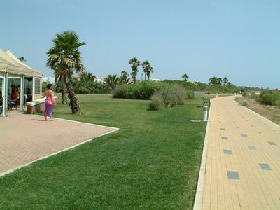 Photo for Beach & golf in a wonderful natural and tourist enclave. WiFi