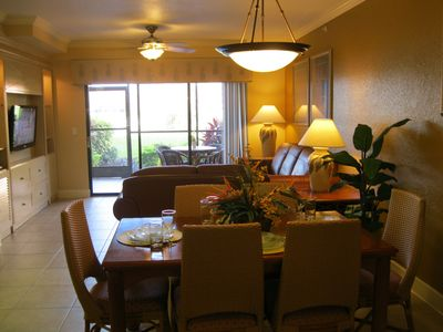 Photo for *Special Holiday Getaway* 2-Bedroom at Luxurious Resort with Lake in Disney Area