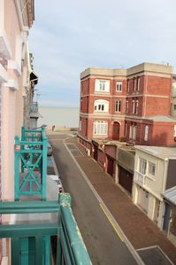 Photo for F2 renovated in Mers les Bains, 50m from the beach, sea view