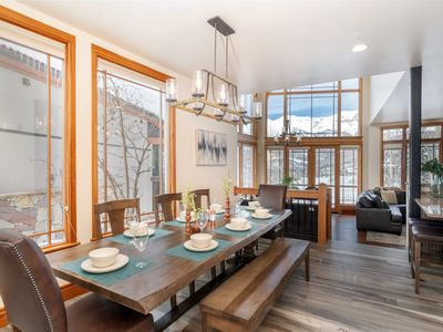 Photo for Newly remodeled mountainside condo with refined decor and thoughtful touches throughout