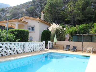 Photo for Villa With Stunning Mountain Views Of Barx