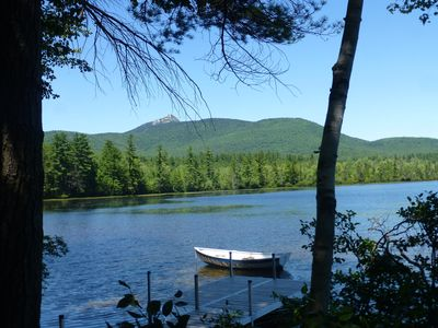 Photo for Waterfront Duplex on Chocorua Lake w Kayaks & Fire Pit *3 Nt Min for Summer*