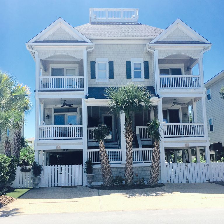 Wrightsville Beach House Rentals: Sound And Ocean View Home